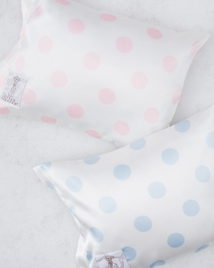 Little Giraffe Dot Satin Nap Pillow