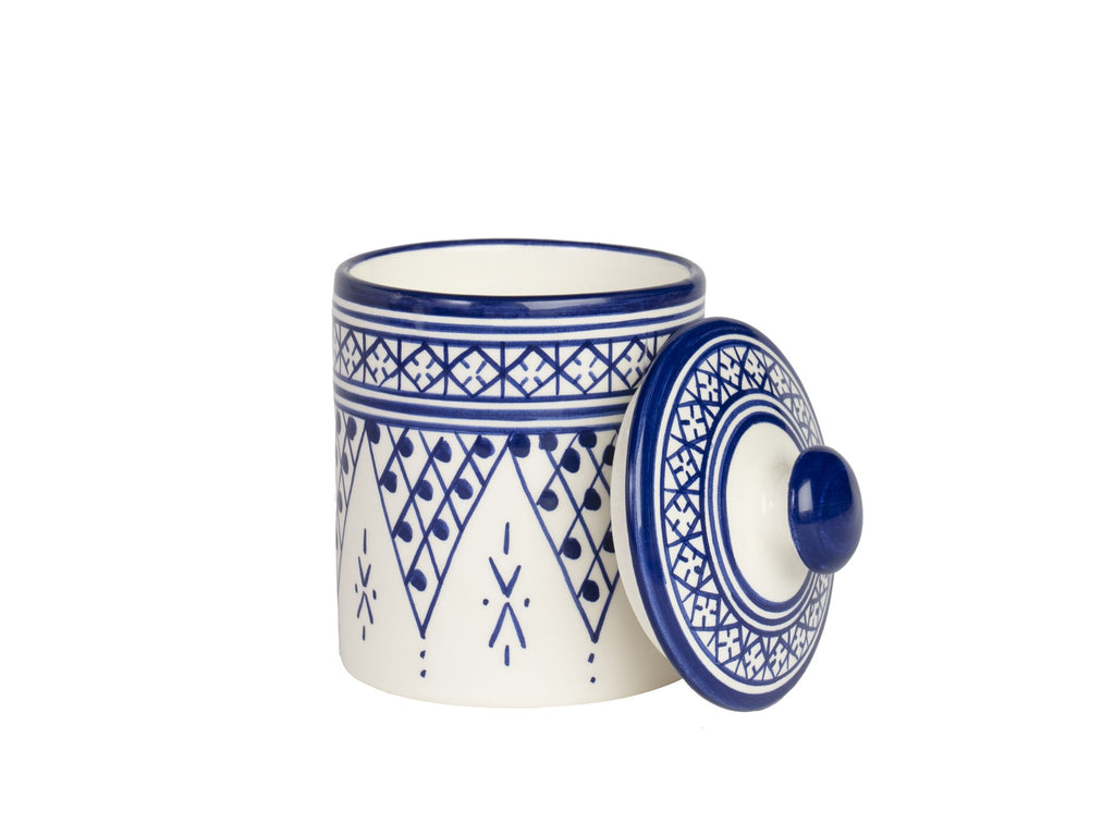 Riad Candle Moroccan Ceramic with wood wick