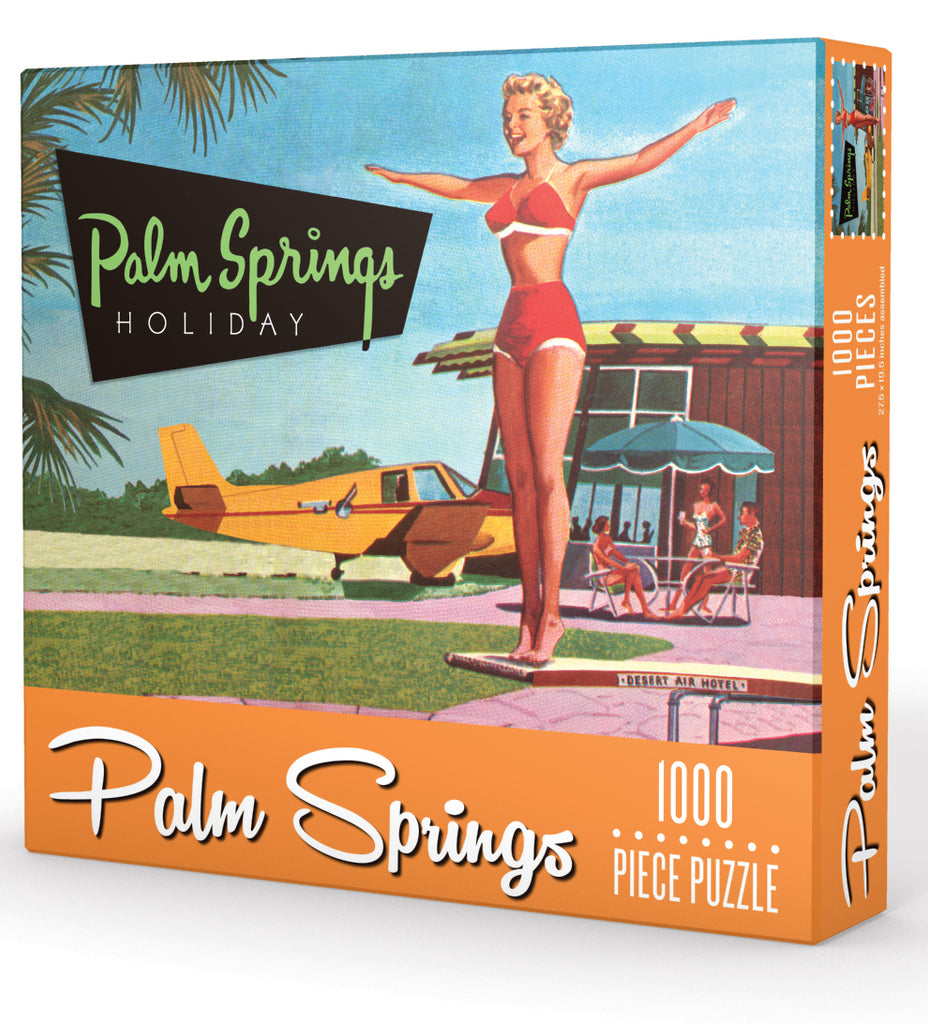 Palm Springs Holiday Puzzle