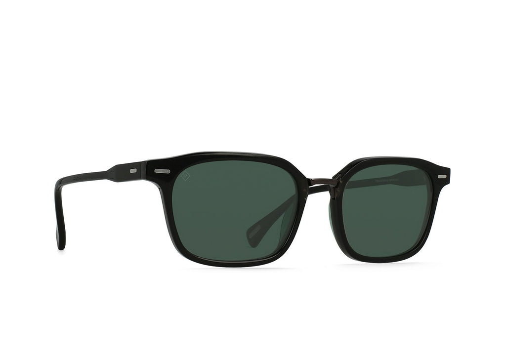 Crystal Black + Polished Onyx / Green Polarized