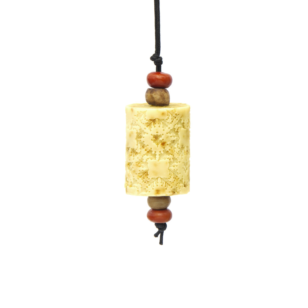 Rose Petal  Oriental Soap on a Rope. The Marrakech hanging Jewel. Moroccan resin beads
