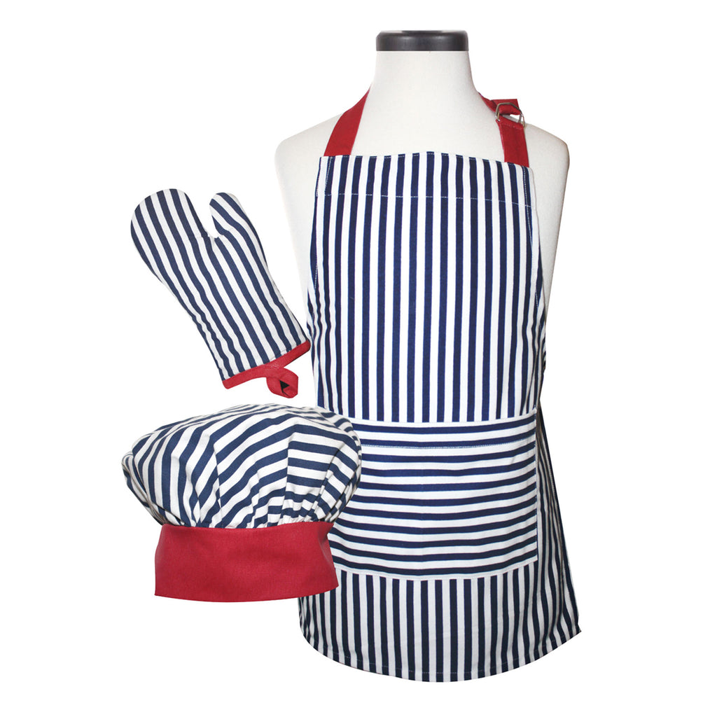 Striped Apron Deluxe Child Boxed Set
