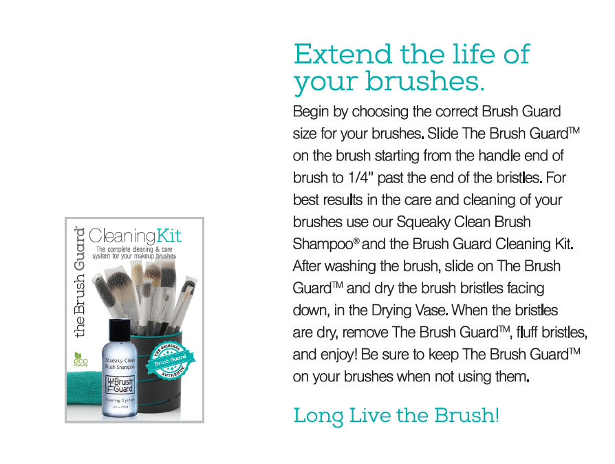 Brush Guard Cleaning Kit