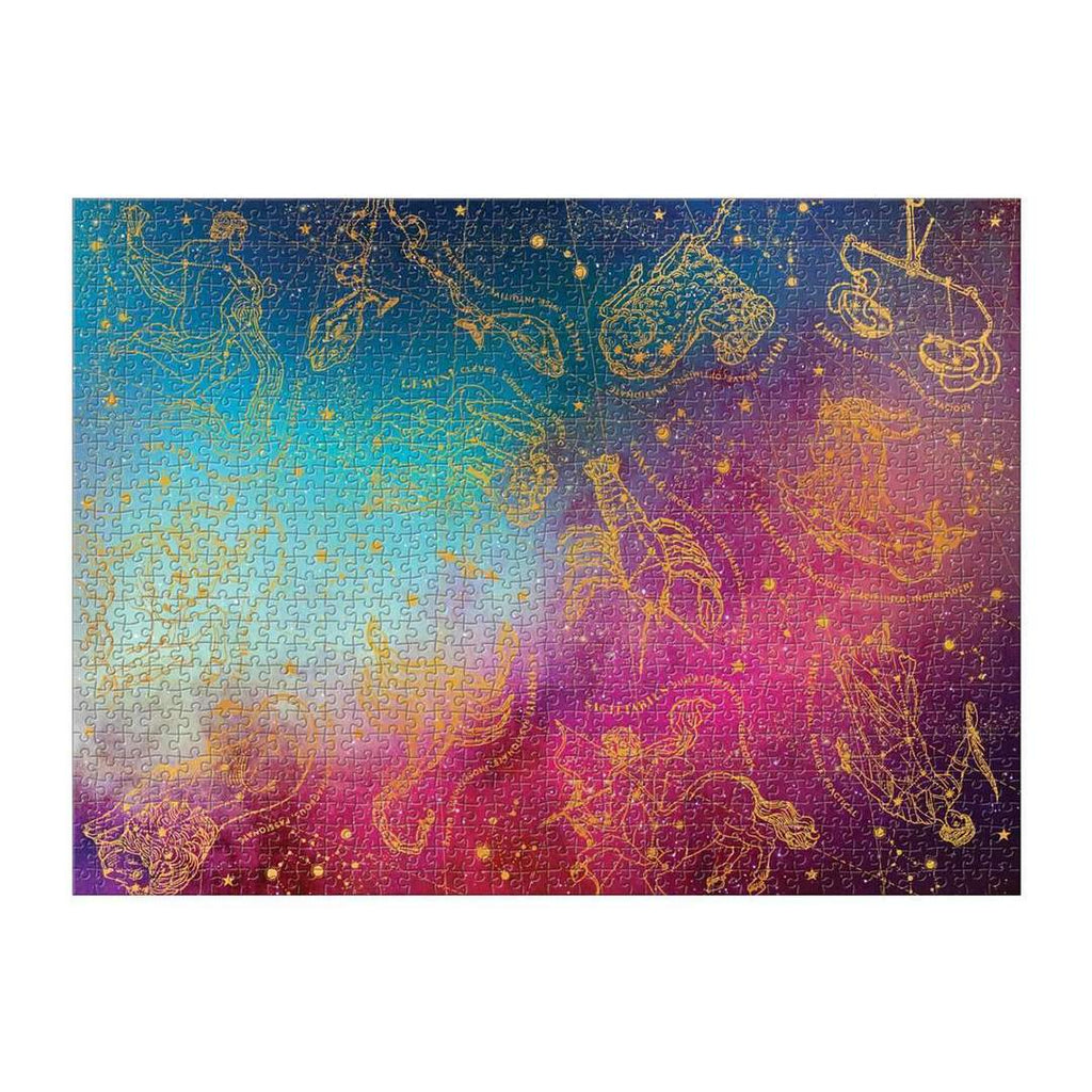 Cosmos Foil Astrology Puzzle- 1000 Pieces