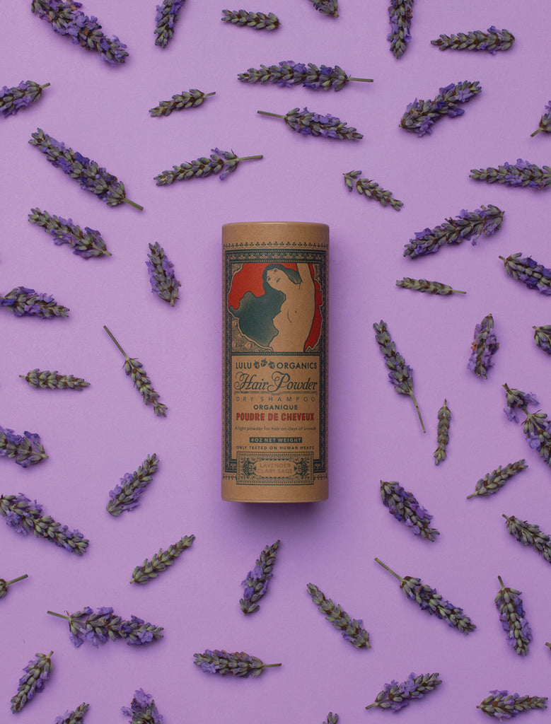 Lavender + Clary Sage Hair Powder, 4oz.