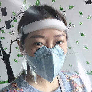 Transparent Protective Mask Anti-Fog Splash Oil-Splash Proof Full Face Mask Protect Shield Anti-UV Anti-Shock Safety Mask