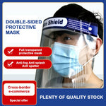 Oil-Splash Proof Mask Onion Goggles Dust-Proof Face Protective Mask Kitchen Cooking Work Safety Painting Face Protection