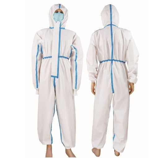 Disposable Anti-epidemic Antibacterial medico Isolation Clothing Suit Clothes Gowns Devices Patch Coveralls Anti Static FHF01