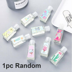 55ml Portable Hand Sanitizer Gel Antibacterial Disposable Disinfection Gel Disposable Quick-Dry Wipe Out Bacteria