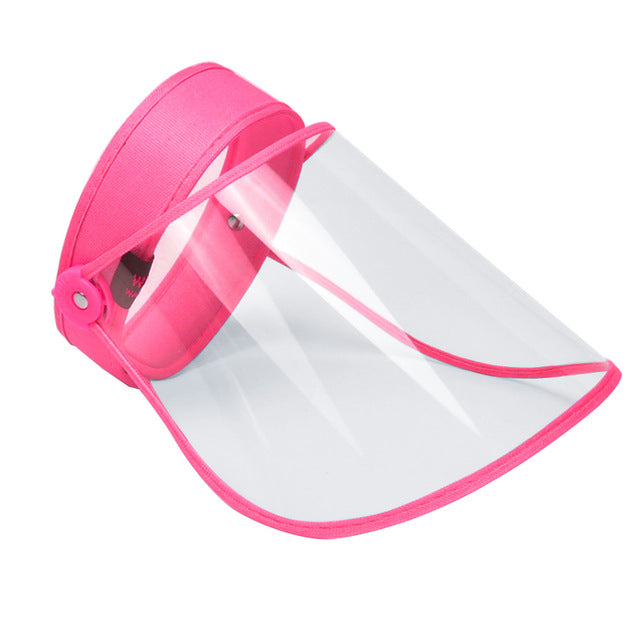 1PCS Transparent Full Face Covering Mask Visor Shield Stop the Flying Spit Prevent Anti Droplet Dust-proof Protect
