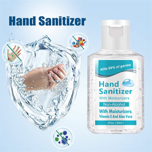 60ml Antibacterial spray Portable Disposable Hand Sanitizer Liquid Soap Lotion Detergent For Travel Neutral Outdoor Cleansing