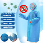 Waterproof One Time Disposable Oil-Resistant Protective Coverall for Spary Painting Decorating Clothes Overall Suit Workwear