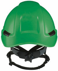 Massif brimless hard hat shown in green