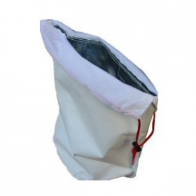 Bushpro Sivicool Sac in white with drawstring top to keep seedlings cool and healthy
