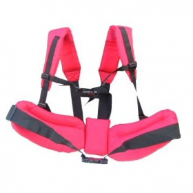 Planting Harness without bags shown in cerise colour