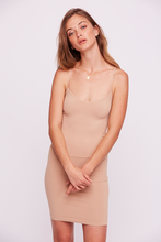 Load image into Gallery viewer, Free People Seamless Mini Slip / Nude