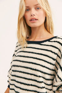 Free People Brenton Striped Pullover