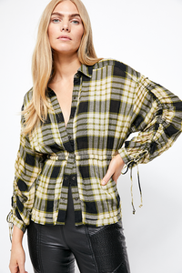 Free People Pacific Dawn Plaid