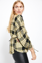 Load image into Gallery viewer, Free People Pacific Dawn Plaid