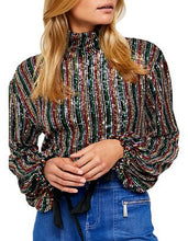Load image into Gallery viewer, Free People MIDNIGHT CITY TOP