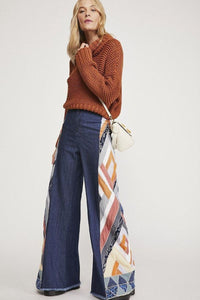 Free People STICK BY YOUR SIDE FLAIR JEAN
