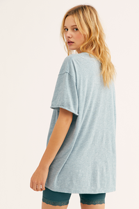 Free People CLARITY RINGER / BLUE