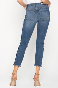 Miss Me NEW BFF CROP STRAIGHT JEANS