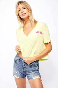 Free People HEART OF GOLD TEE