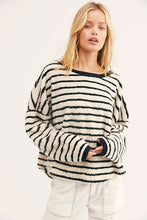 Load image into Gallery viewer, Free People Brenton Striped Pullover