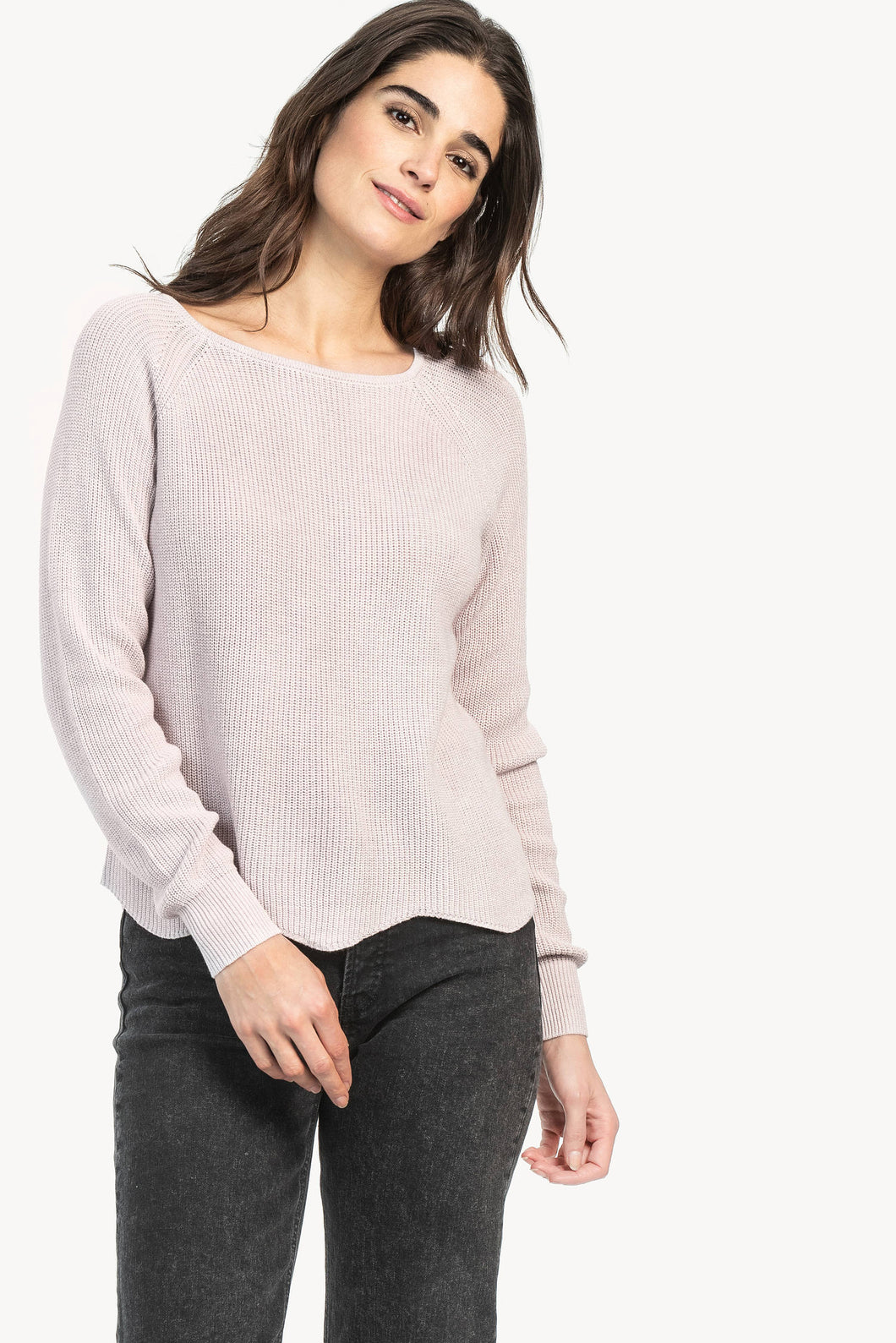 Lilla P SCALLOPED PULLOVER