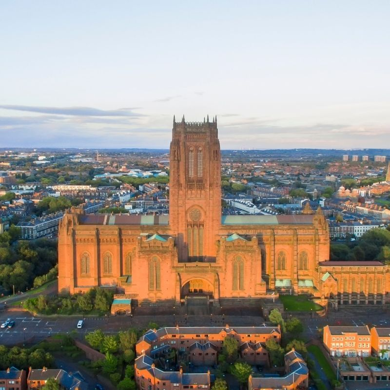 Love at the Liverpool cathedral