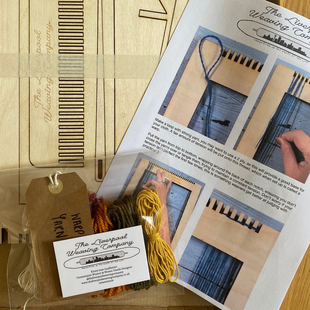 'Start Weaving' Kit - with 5 luxurious, hand-tied yarn bundles