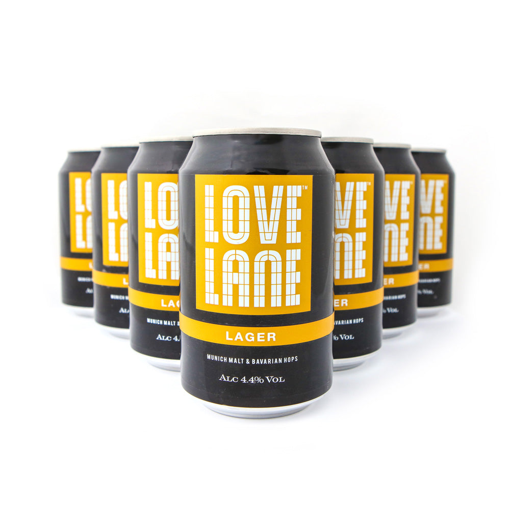 Love Lane Lager - 12 pack