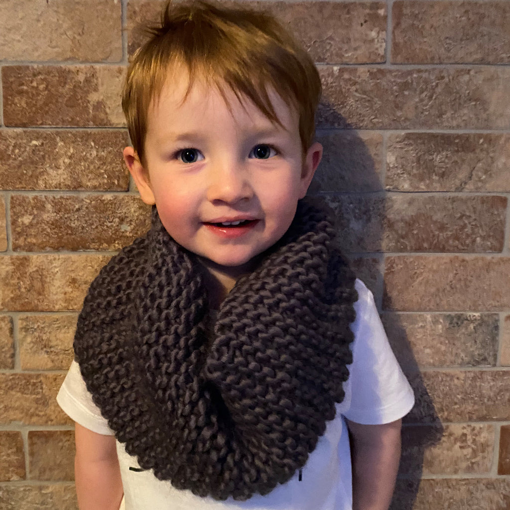 Hand Knitted Mini Snood