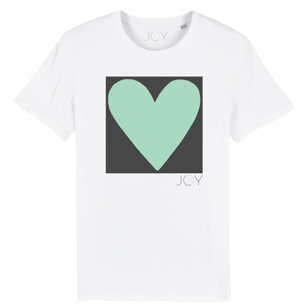 Big love - Unisex Adults Organic White T-shirt