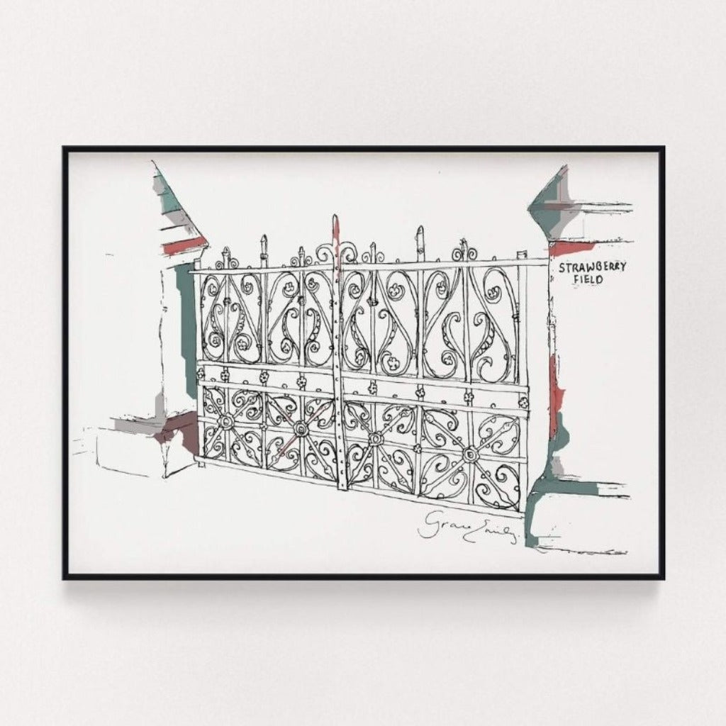 Strawberry Fields Print
