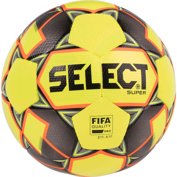 Select Super FIFA Match Soccer Ball Size 5 Yellow