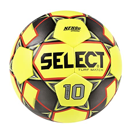 Select Numero 10 Turf Match Yellow Soccer Ball