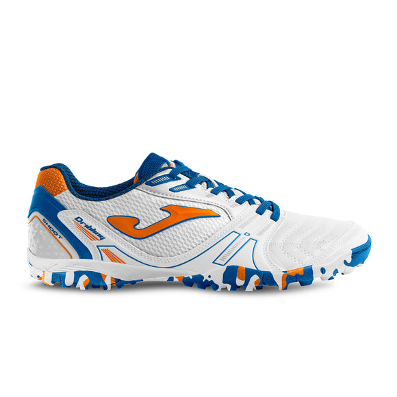 Joma Dribling TF White/Blue/Orange