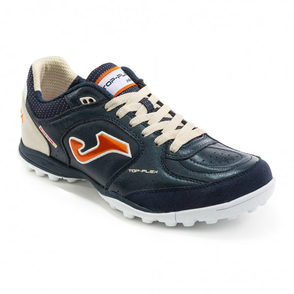 Joma Top Flex Turf Navy Blue White Orange