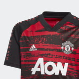 adidas Youth Manchester United Pre-Match Shirt 2020/2021
