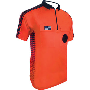 Official Sports NISOA Orange SS Soccer Referee Jersey