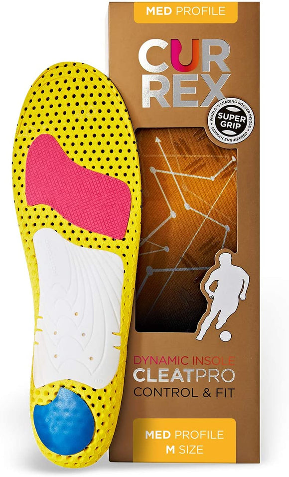 currex CLEATPRO Performance Insoles MED PROFILE ORANGE