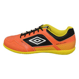 Umbro Sala II Liga Indoor Futsal Shoes Orange Yellow Black White