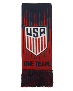 Official USA Soccer Scarf, One Team One Nation U.S. Soccer Scarf