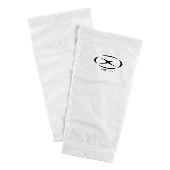 Xara Kangaroo Pocket Shin Guard Sleeve White