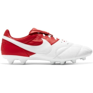Nike Premier II FG Firm-Ground Soccer Cleat White/Red