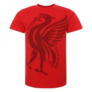 Liverpool F.C. Fan YNWA logo T-Shirt Mens Red