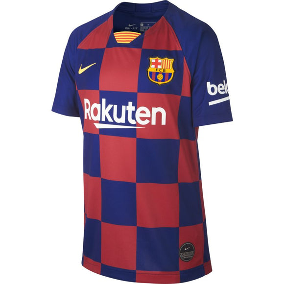 Nike F.C. Barcelona Home 2019-2020 Youth Jersey Customized