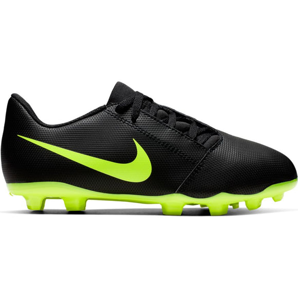 Nike Jr. Phantom Venom Club FG BLACK/VOLT
